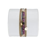Bracelet Louisa Rubis
