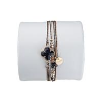 Bracelet Clover Noir