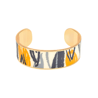 Bracelet Bangle Flore Or