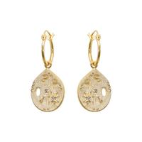 Boucles d'Oreilles Créoles Joy Gold