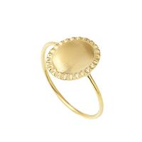 Bague Byzance Ovale Gold