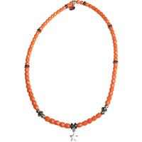 Collier Orange Etoile