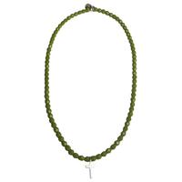 Collier Vert Croix