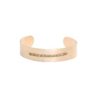 Bracelet Jonc/ Manchette Scarabée Médium Large Perles Gold