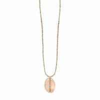 Collier Sautoir Scarabée Gold Médailles et Perles
