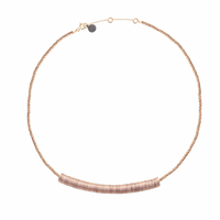 Collier Puka Chic XS Rose Gold