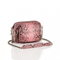 Sac Python Charly Rose Poudré Clous