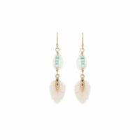 Boucles d'Oreilles Kesiah White