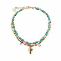 Bracelet de Cheville Lizzie Multicolore