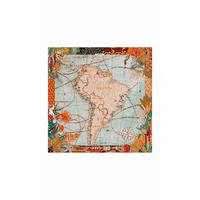 Foulard South America Mini Beige Wild