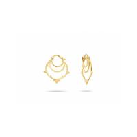 Boucles d'Oreilles Little Kolam Gold