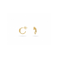 Boucles d'Oreilles Little Charlize Gold