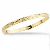 Bracelet Jonc Arabesque Gold