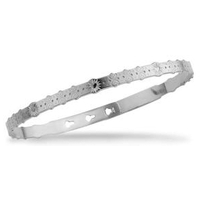 Bracelet Jonc Idylle Silver