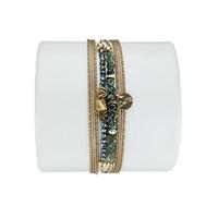 Bracelet Louisa Serafinite Verte