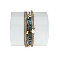 Bracelet Louisa Chrysocolle Bleu