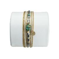Bracelet Bahia Argent Turquoise Sauvage