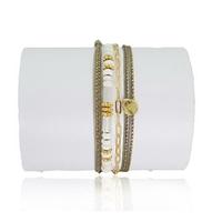 Bracelet Balinais Blanc