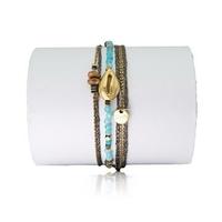 Bracelet Cauri Bleu