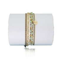 Bracelet Jivana Vert d'Eau