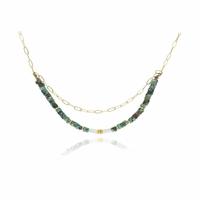 Collier Balinais Turquoise Sauvage
