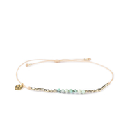 Bracelet Huahine Turquoise Hematite