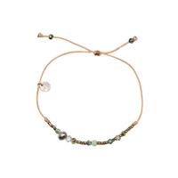 Bracelet Huahine Turquoise Labradorite Keshi
