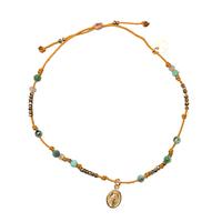 Bracelet Huahine Turquoise Hematite Madone