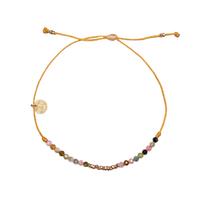 Bracelet Huahine Tourmaline, Hématite, Pyrite