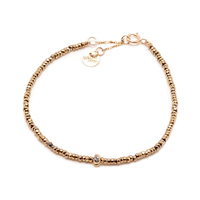 Bracelet Sublime Or Stone Kaki 1 Pépite