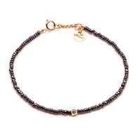 Bracelet Sublime Or Stone Noir 1 Pépite