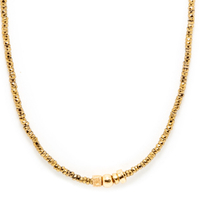 Collier Sublime Or Stone 3 Pierres Gold