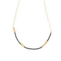 Collier - Ras de cou Graphik Stone Noir