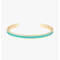 Bracelet Bangle Turquoise Or