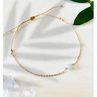 Bracelet Chaine Gold Amazonite