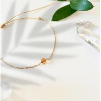 Bracelet Chaine Gold Ambre