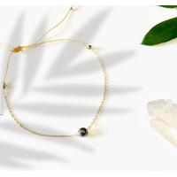 Bracelet Chaine Gold Hématite