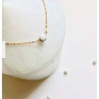 Bracelet Chaine Gold Howlite