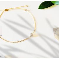 Bracelet Chaine Gold Labradorite