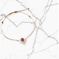 Bracelet Chaine Gold Lépidolite