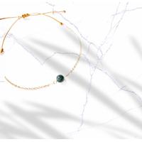 Bracelet Chaine Gold Oeil de Faucon