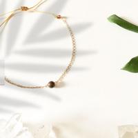 Bracelet Chaine Gold Oeil de Tigre