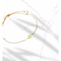 Bracelet Chaine Gold Peridot