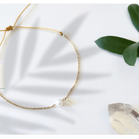 Bracelet Chaine Gold Perle