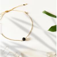 Bracelet Chaine Gold Tourmaline