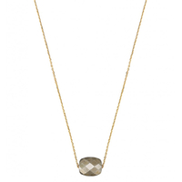 Collier Or Jaune Friandise Coussin Pyrite