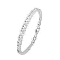 Bracelet Multi Chaines boules Argent