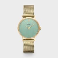 Minuit, Mesh Gold, Stone Green