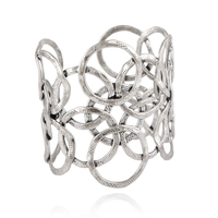 Bracelet - Manchette Olympie Argent