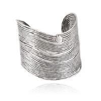 Bracelet - Manchette Wave Argent